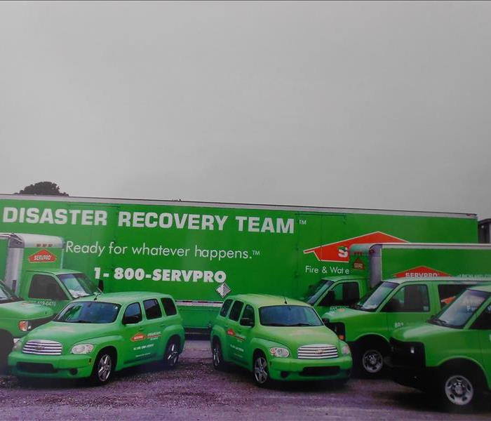 Storm Damage  When Storms or Floods hit Columbia, SERVPRO is ready!